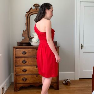 The Limited Dresses - The Limited Red Cocktail Dress, Size 4